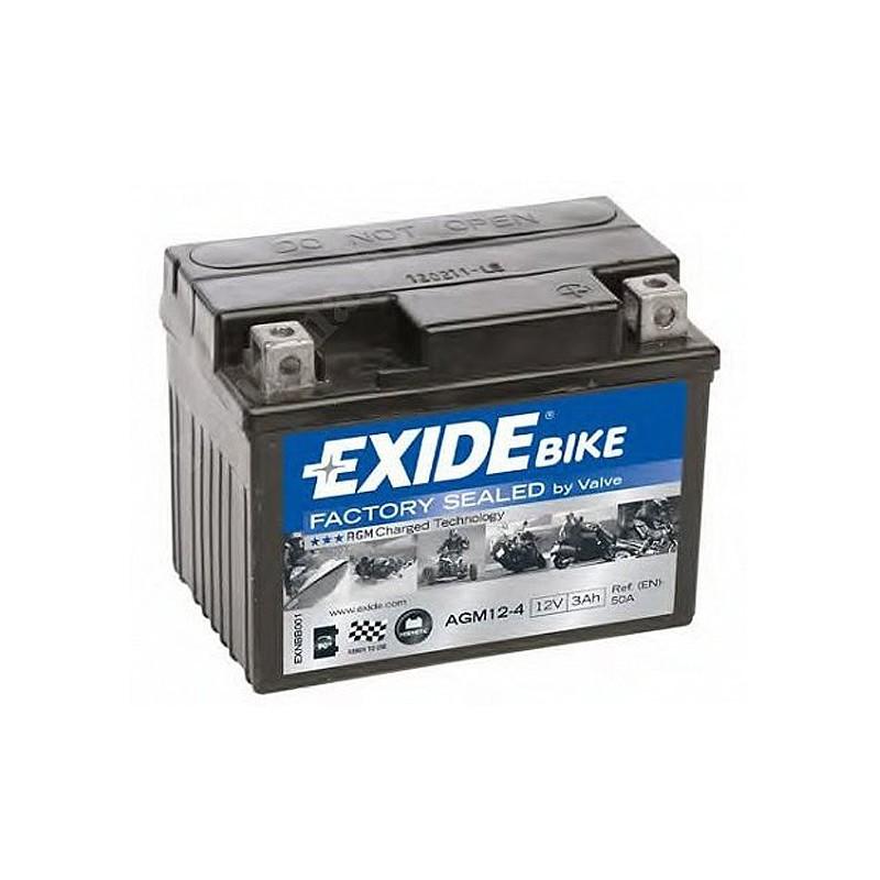 Аккумулятор Exide Bike AGM12-4 12V
