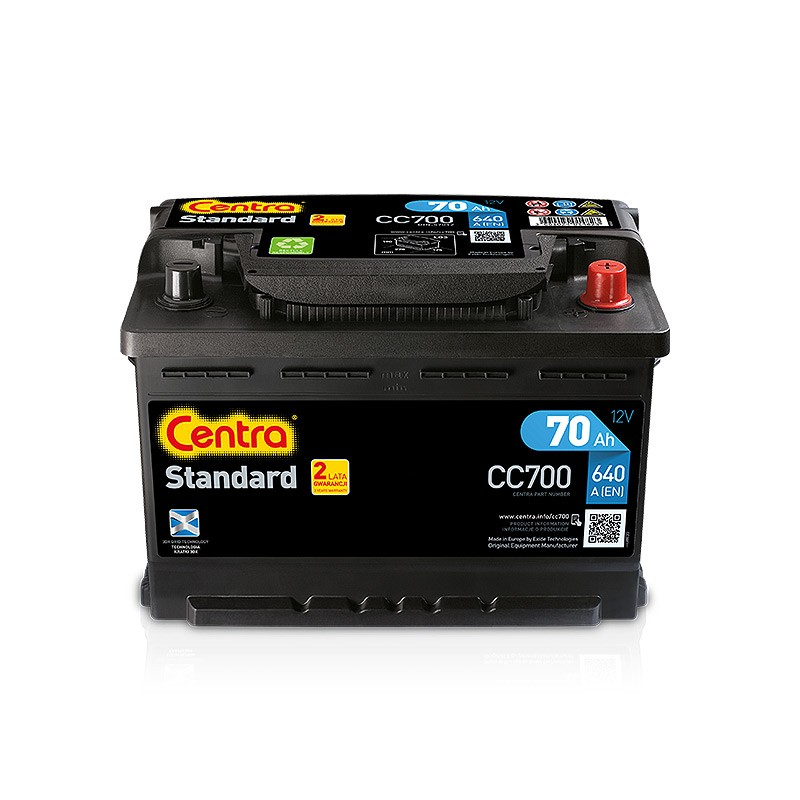 Аккумулятор Centra CC700