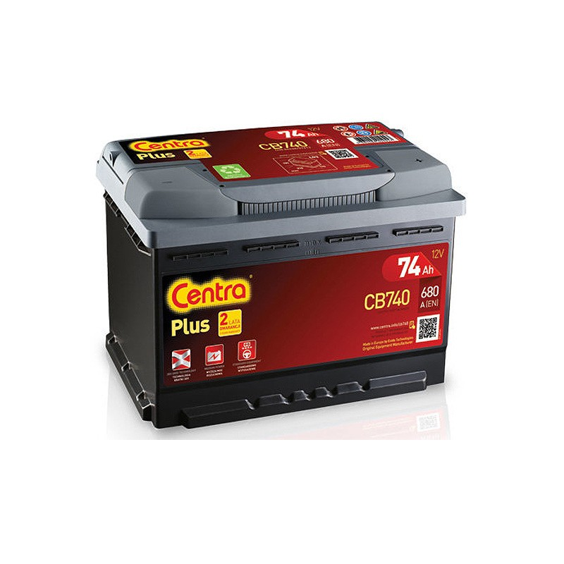 Аккумулятор Centra Plus CB740