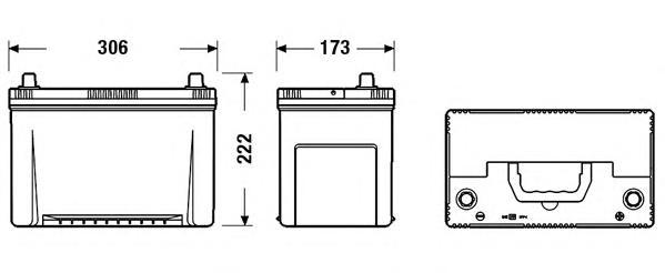 Аккумулятор Centra Futura CA954