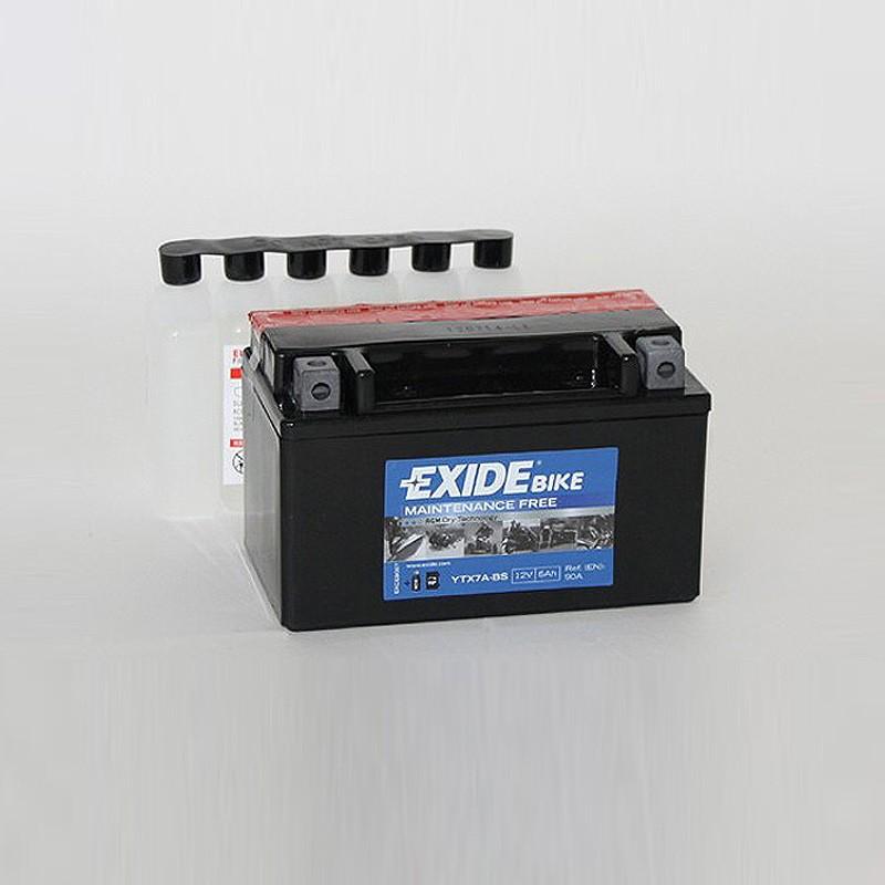 Аккумулятор Exide Bike YTX7A-BS 12V