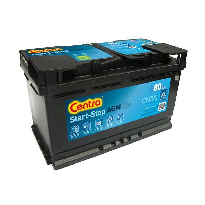Аккумулятор Centra Start-Stop AGM CK800