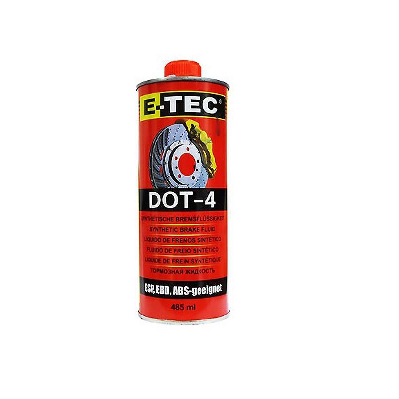 DOT-4 E-TEC 485ml Тормозная жидкость