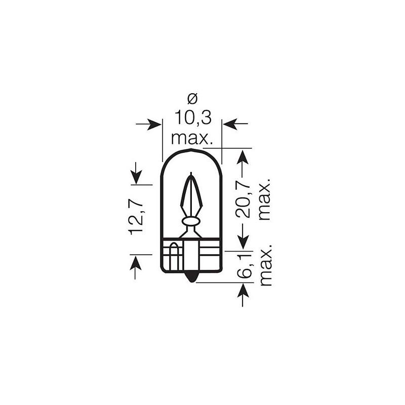 Автомобильная лампа Osram 2825 ULT Ultra Life