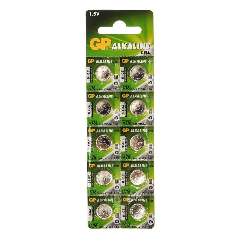 Батарейка часовая GP AG13/ LR44/ A76