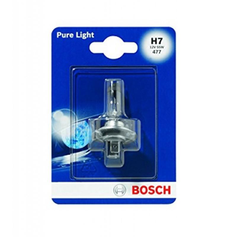 Лампа автомобильная  BOSCH Pure Light H7