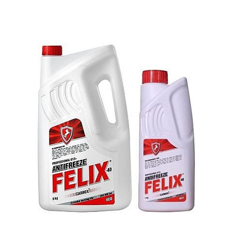 Антифриз Felix Carbox G12 красный -40°C