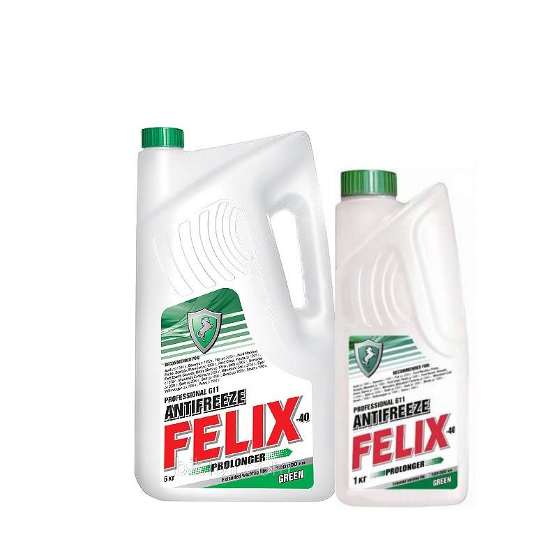 Антифриз Felix Prolonger G11 зеленый -40°C