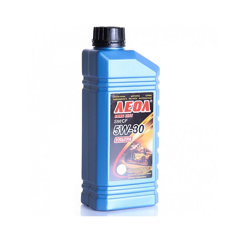 ЛЕОЛ УЛЬТРА 5w-30 синтетическое моторное масло 1L