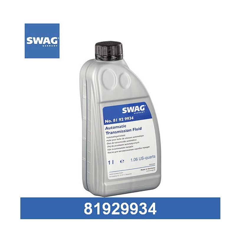 Масло трансмиссионное SWAG Dexron III (81929934) 1 л.