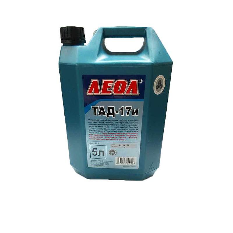 Трансмиссионное масло ЛЕОЛ ТАД-17И SAE 80W90, API GL-5