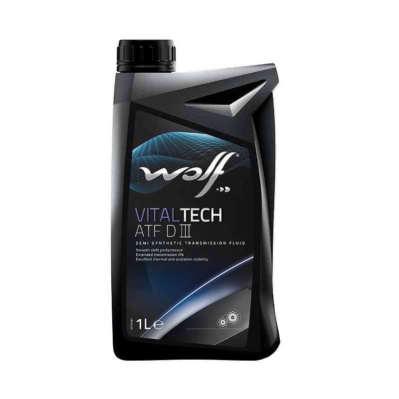 Масло трансмиссионное WOLF VITALTECH ATF DIII 1L