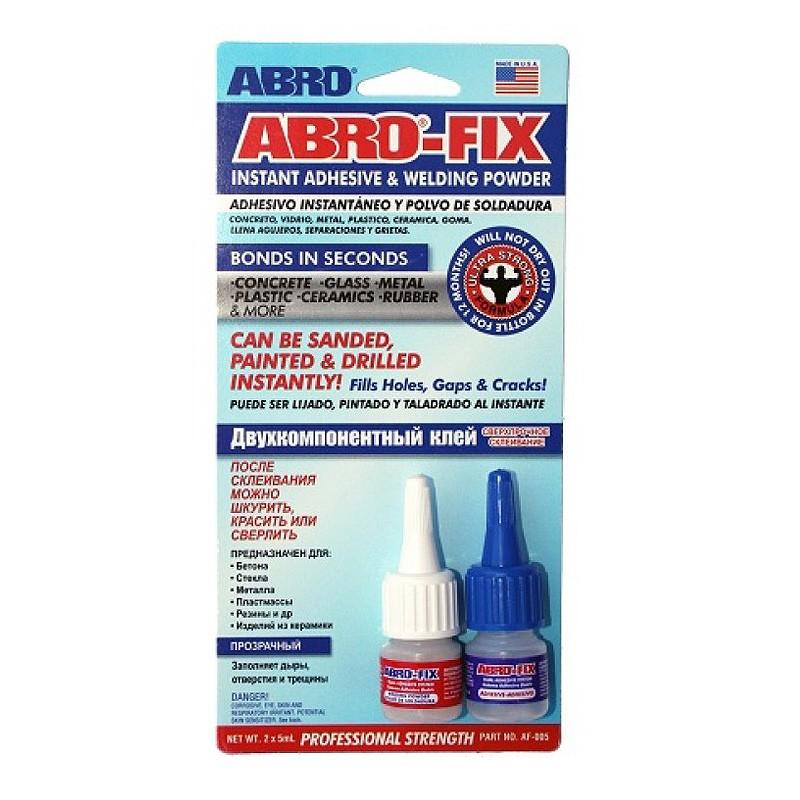 Двухкомпонентный клей ABRO-FIX