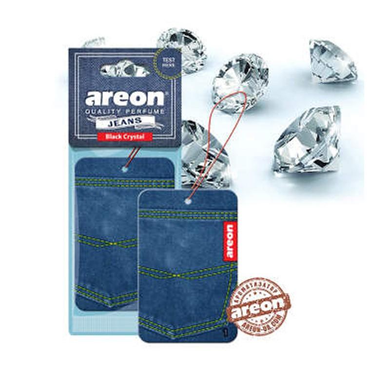 Ароматизатор воздуха Areon Jeans Black crystal