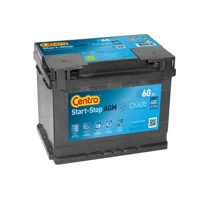 Аккумулятор Centra Start-Stop AGM CK600