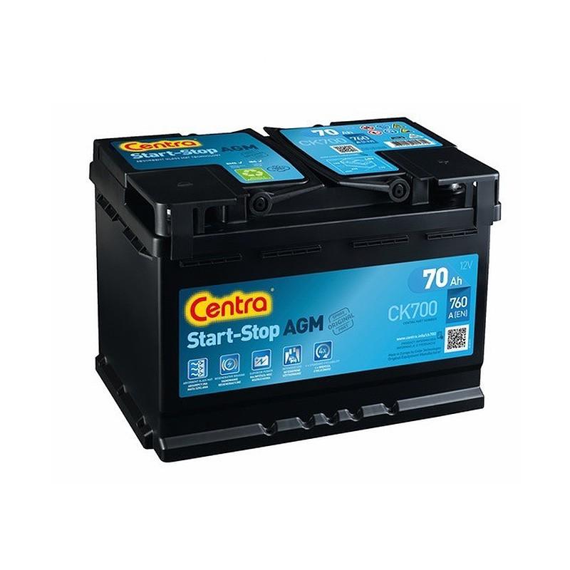 Аккумулятор Centra Start-Stop AGM CK700