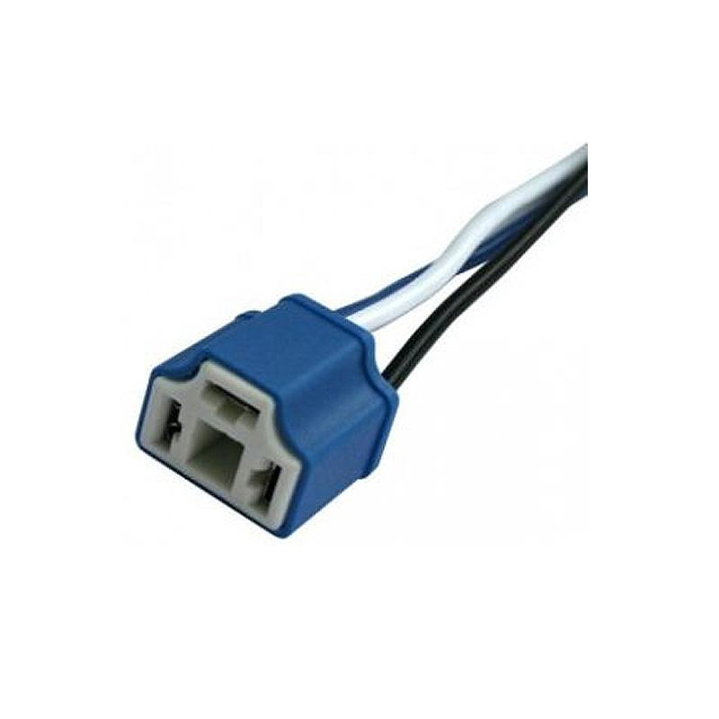 Разъем (фишка) с проводами для лампы H4