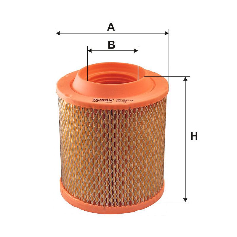 AR367/1 Воздушный фильтр Filtron