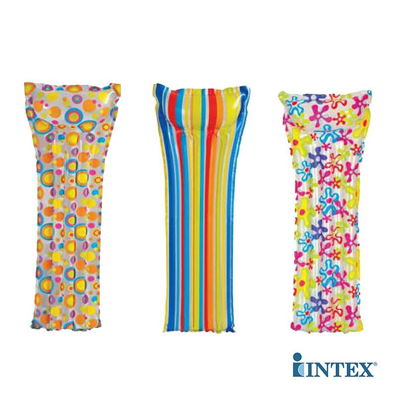 Пляжный надувной матрас с подголовником Intex 59711
