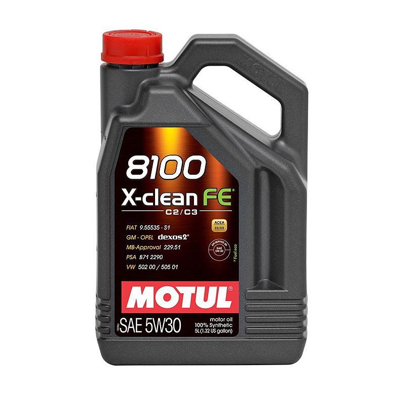 Масло моторное Motul 8100 X-Clean Fe