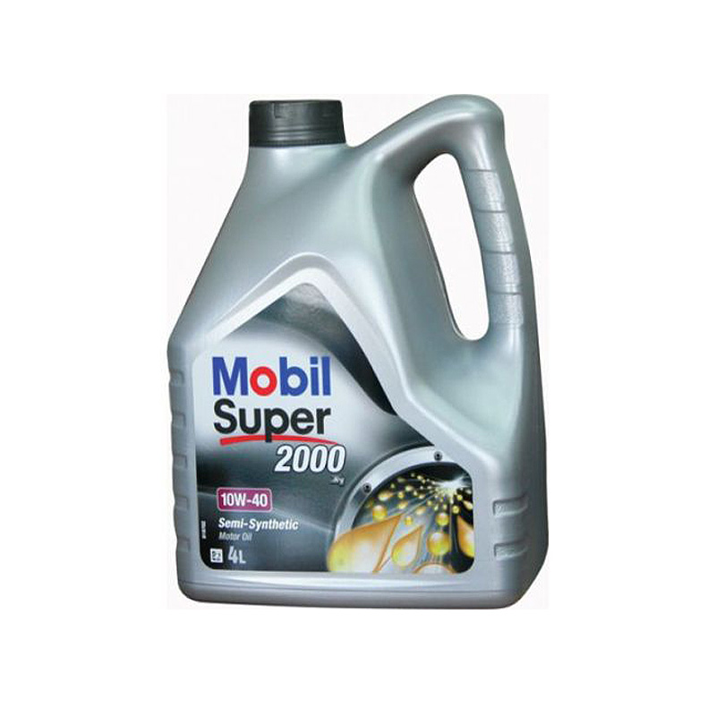 Масло моторное Mobil Super 2000 10W40 4л