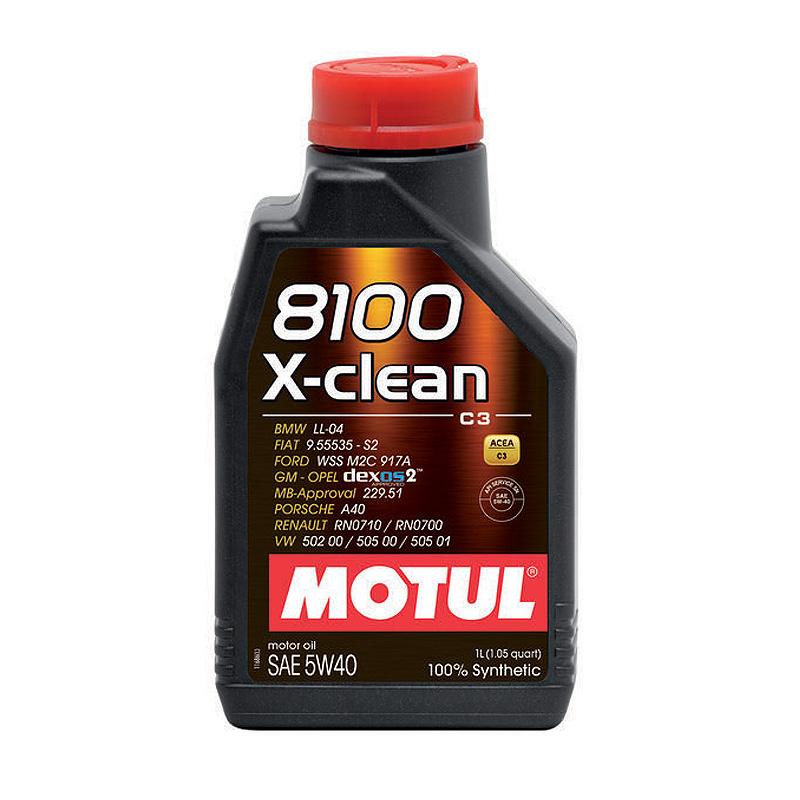 Масло моторное Motul X-Clean 5W40