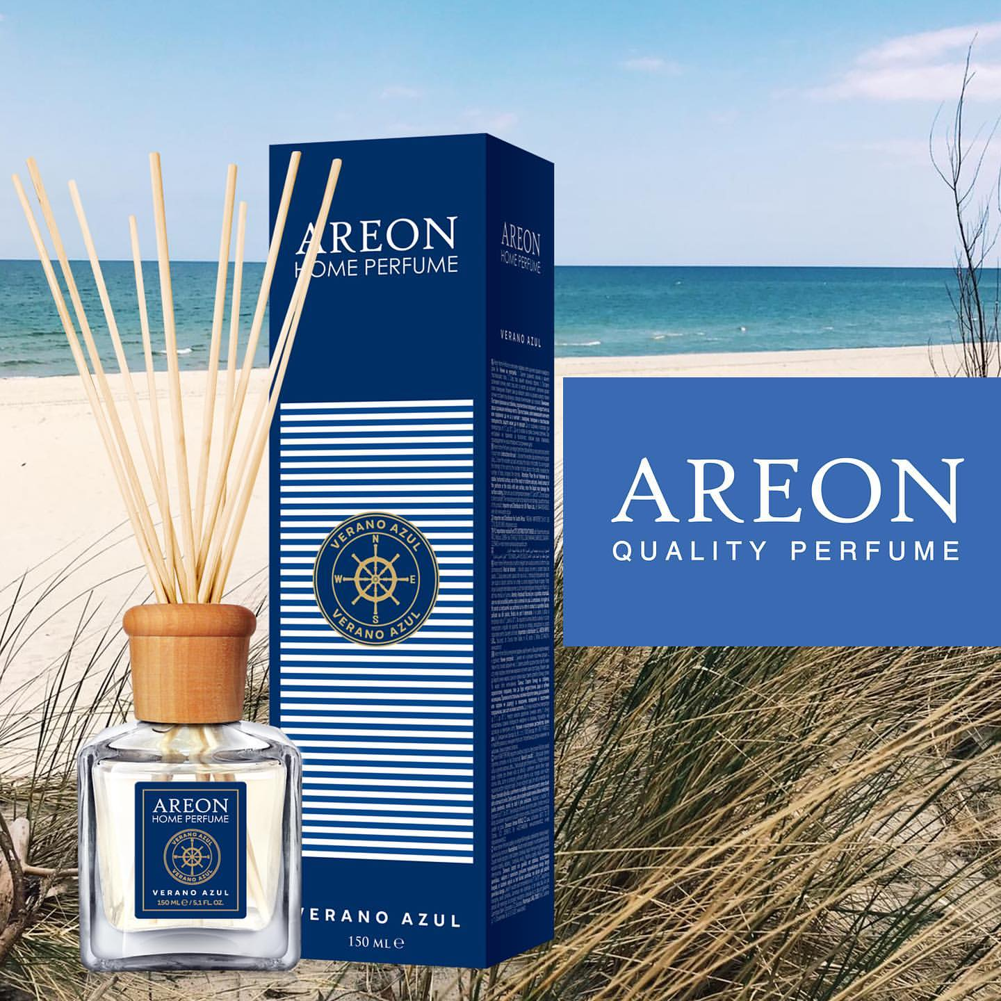Ароматизатор Areon HOME PERFUME 150ml VERANO AZUL