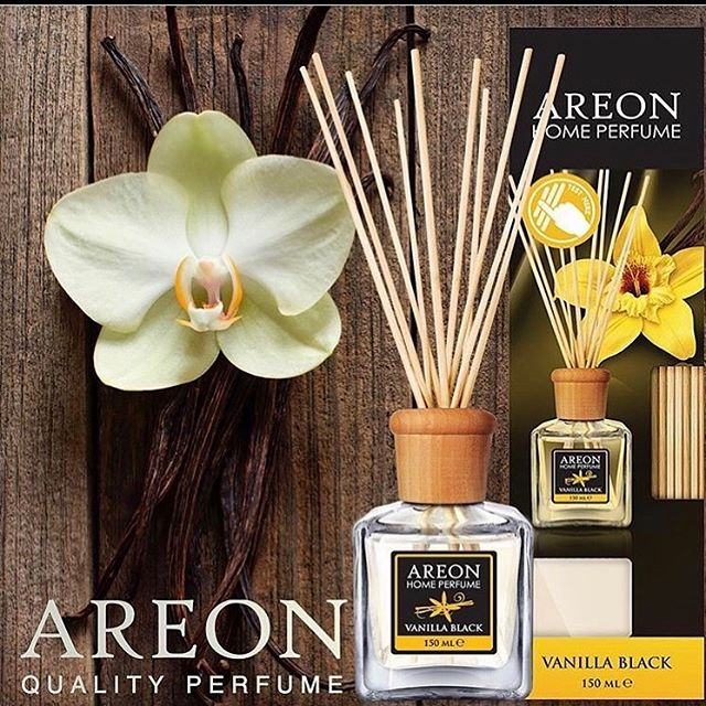 Ароматизатор Areon Home Perfume 150ml Premium Vanilla Black