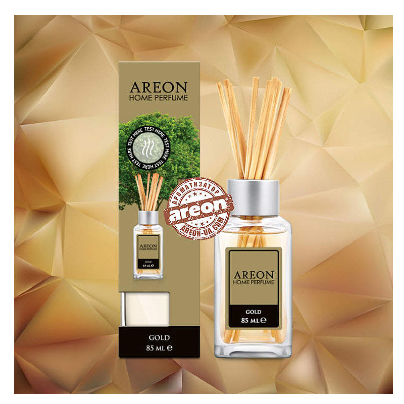 Ароматизатор Areon HOME PERFUME 85ML LUX (GOLD)