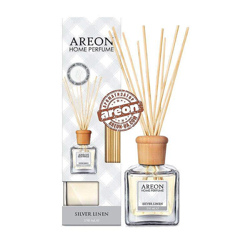 Ароматизатор Areon HOME PERFUME 150ML SILVER LINEN