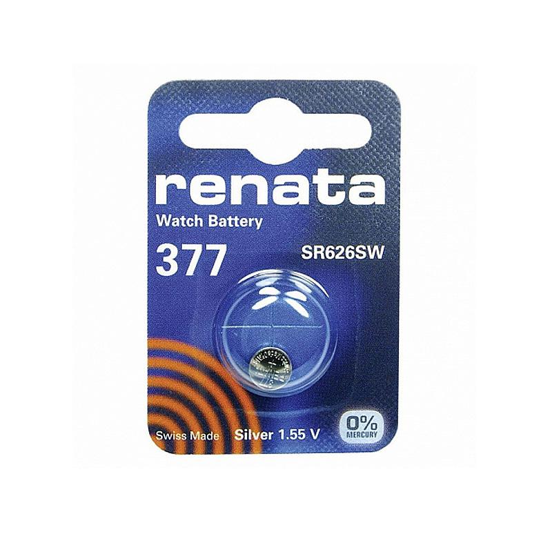 Батарейка  Renata 377 (AG4)(SR626SW, SR626, SR66)