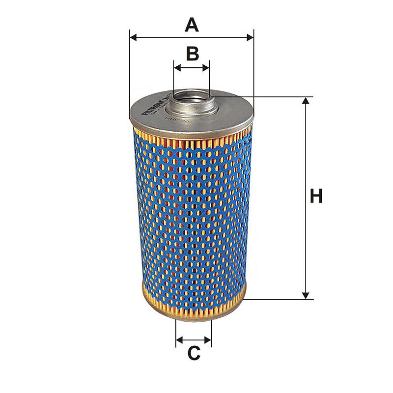 OM517/1 Масляный фильтр Filtron