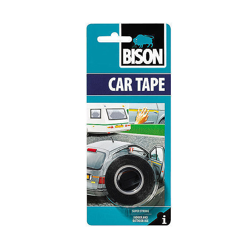 Скотч двухсторонний Bison Car Tape 1,5mx19mm