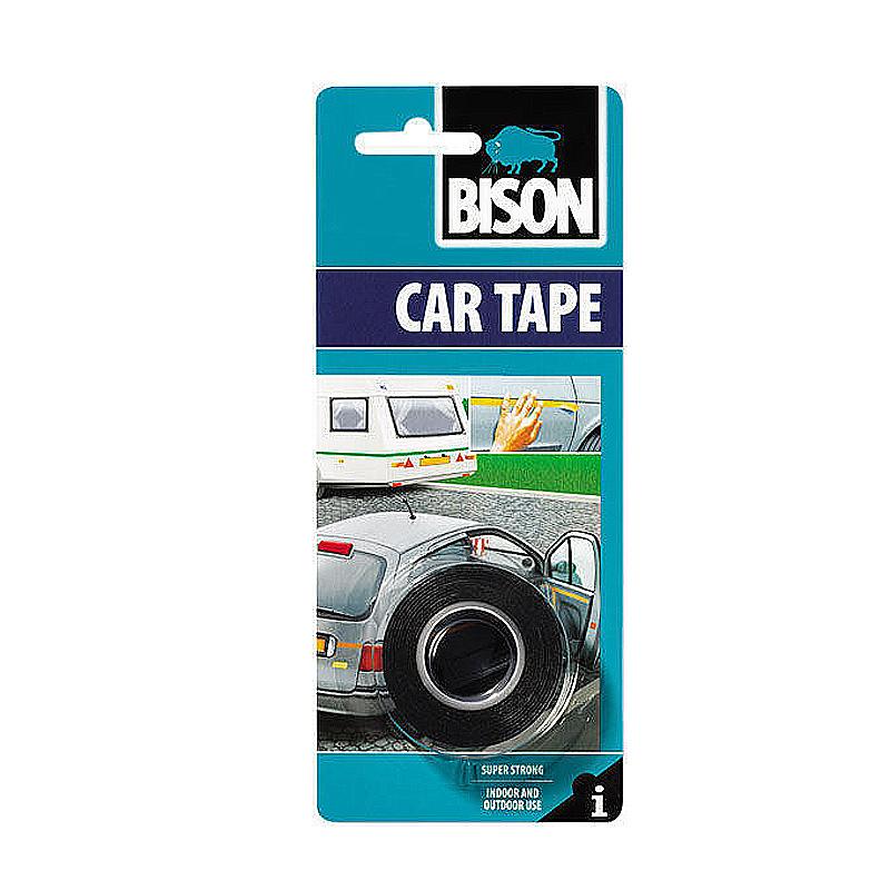Скотч двухсторонний Bison Car Tape 1,5mx19mm