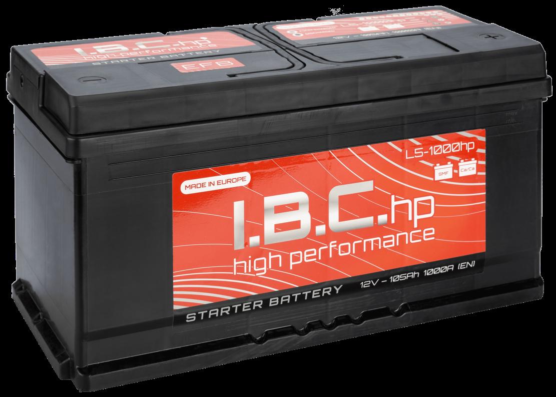 Аккумулятор I.B.C. EFB L3-840HP   77Ah